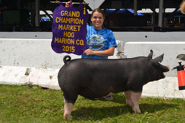 Grand Champion Market Hog Overall