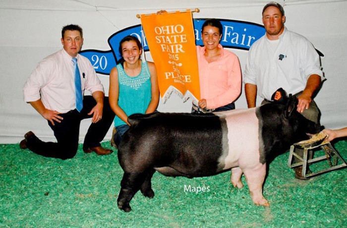 Res. Hampshire Barrow & 5th Overall